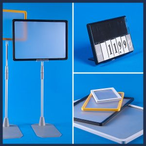 Showcard Stands and Frames
